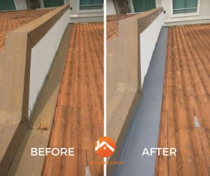 Bukit indah Johor roofing services Before after