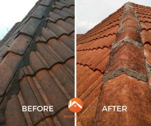 Pulai Perdana Johor roofing services Before after