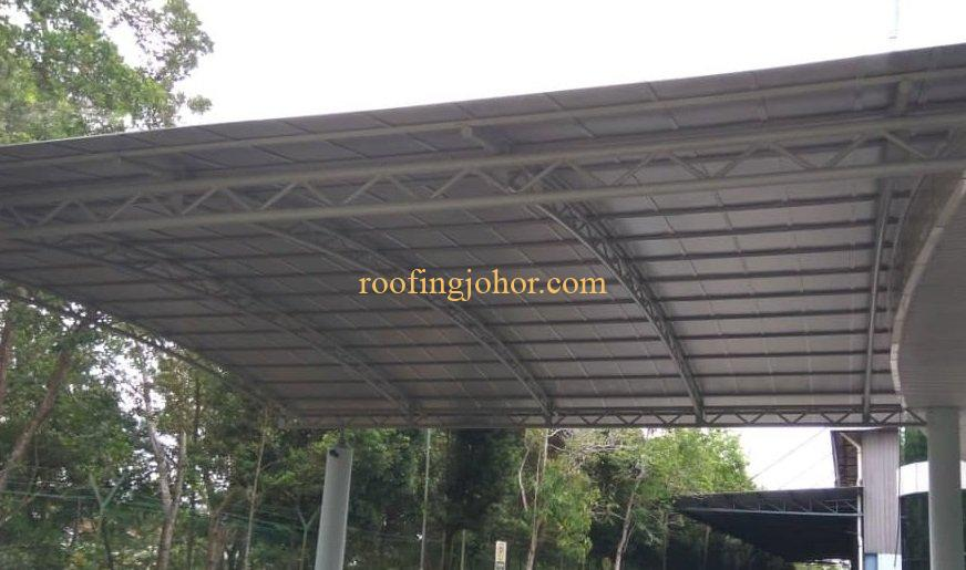 metal deck roofing installation